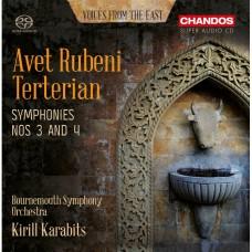 阿維.特特里安: 第三.四號交響曲 卡拉畢茲 指揮 波茅斯交響樂團Kirill Karabits / Terterian: Symphonies Nos 3 and 4