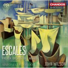 停靠的港口 法國管弦樂作品集 約翰.威爾森 指揮 倫敦市立交響樂團John Wilson / 'Escales': French Orchestral Works