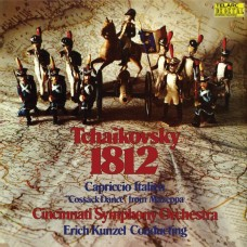 TEL00009 (黑膠)柴可夫斯基:1812序曲 康澤爾指揮辛辛那提管弦樂團 Erich Kunzel/Tchaikovsky:1812 Overture,Capriccio Italien (Telarc)