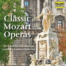 (11CD) 莫札特四大歌劇 - 魔笛 費加洛婚禮 女人皆如此 唐‧喬凡尼 馬克拉斯爵士 指揮 蘇格蘭室內樂團Classic Mozart Operas