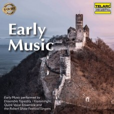 (5CD) 早期音樂經典名曲 昆克五重唱 織綿合唱團 法蘭德斯管弦樂團Early Music