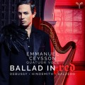 """""""紅色敘事曲(豎琴作品集)  艾曼紐.賽頌 豎琴"""" Emmanuel Ceysson / Ballad in Red"""