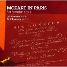 莫札特在巴黎 吉爾‧夏漢 小提琴 歐莉‧夏漢 鋼琴Gil Shaham, Orli Shaham / Mozart in Paris: 6 Sonatas, Op. 1