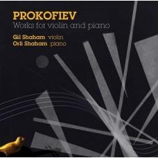 普羅高菲夫:小提琴與鋼琴作品集  吉爾‧夏漢 小提琴 歐莉‧夏漢 鋼琴Gil Shaham, Orli Shaham / Prokofiev: Works for Violin and Piano