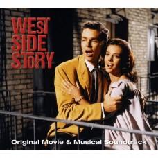 (2CD)伯恩斯坦:(西城故事)電影與音樂劇原聲帶Leonard Bernstein: West Side Story - Original Movie & Musical Soundtrack (2CD)