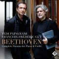 (3CD)貝多芬:小提琴奏鳴曲全集  泰迪·帕帕費拉米 小提琴  費德里克.基  鋼琴  / Tedi Papavrami & Francois-Frederic Guy / Beethoven: Complete Sonatas for Violin & Piano