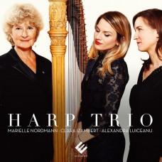 EVCD050 豎琴三重奏(小夜曲.鱒魚豎琴改編名曲集) Marielle Nordmann / Harp Trio (Evidence)