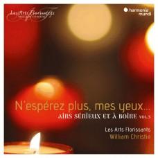 我看不到希望 (法國巴洛克歌曲集) 克利斯提 指揮 繁盛藝術古樂團William Christie, Les Arts Florissants / N'esperez plus mes yeux