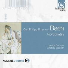 C.P.E.巴哈 :三重奏鳴曲  Bach C.P.E. / Sonates en trio