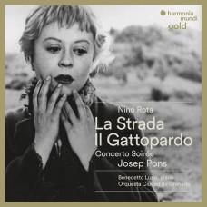 羅塔: 大路、浩氣蓋山河、黃昏協奏曲 約瑟夫.彭 指揮 / Josep Pons / Nino Rota: La Strada Suites, Il Gattopardo (The Leopard), Concerto-Soiree