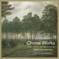 孟德爾頌: 合唱曲集 RIAS室內合唱團 / RIAS Kammerchor / Mendelssohn: Choral Lieder