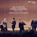 巴爾托克:第1,3,5號弦樂四重奏 耶路撒冷四重奏Jerusalem Quartet / Bela Bartok: String Quartets Nos. 1, 3 & 5