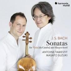 巴哈:維奧爾琴與大鍵琴奏鳴曲(中提琴版) 安東尼.塔梅斯提 中提琴 鈴木優人 大鍵琴Antoine Tamestit, Masato Suzuki / J.S. Bach - Sonatas for Viola Da Gamba and Harpsichord