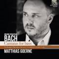 """巴哈:男低音的清唱劇 馬提亞斯.葛納 男中音 弗萊堡巴洛克管絃樂團 / """"Matthias Goerne  / J.S. Bach: Cantatas for Bass """""""