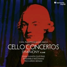 巴哈: 大提琴協奏曲與交響曲 尚-古漢.奎拉斯 大提琴 里卡多.米納西 指揮 雷左納茲合奏團 / Jean-Guihen Queyras / C.P.E. Bach : Cello Concertos & Symphonies
