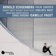 荀伯格: 小提琴協奏曲/昇華之夜 伊莎貝兒.佛絲特 小提琴 丹尼爾.哈丁 指揮 瑞典廣播交響樂團Isabelle Faust / Schoenberg: Violin Concerto, Verklarte Nacht