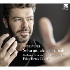 蒙台威爾第: 宗教音樂(道德和精神的森林) 選集 艾拉斯-卡薩多 指揮 巴塔薩.紐曼合奏團 / Pablo Heras-Casado / Monteverdi: Selva Morale e Sprituale