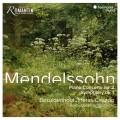 孟德爾頌:鋼琴協奏曲第二號/第一號交響曲 克里斯提昂.貝薩伊登豪 鋼琴 帕布羅.艾拉斯-卡薩多 指揮 佛萊堡巴洛克管弦樂團Kristian Bezuidenhout, Pablo Heras-Casado / Mendelssohn: Piano Concerto No. 2 & Symphony No. 1