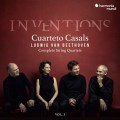貝多芬: 弦樂四重奏全集,第1集 卡薩爾斯四重奏 / (3CD) Cuarteto Casals / Beethoven Complete String Quartets  Vol.1 'Inventions'