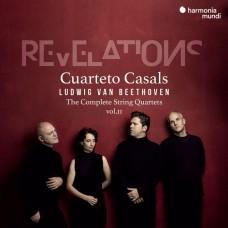 貝多芬: 弦樂四重奏全集(2) (啟示錄) 卡薩爾斯四重奏Cuarteto Casals / Beethoven: Complete String Quartets vol.2 'Revelations' op.18 no.2 / op.59 nos. 2 & 3 / opp. 74 & 132