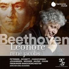 貝多芬: 歌劇(蕾奧諾拉)原始版全曲 雷尼.雅克伯斯 指揮 佛萊堡巴洛克管弦樂團Freiburger Barockorchester, Rene Jacobs / Beethoven: Leonore