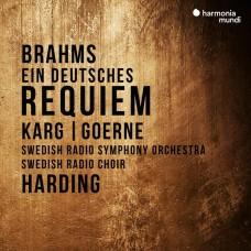 布拉姆斯: 德意志安魂曲 丹尼爾.哈丁 指揮 瑞典廣播交響樂團Daniel Harding / Brahms: Ein deutsches Requiem