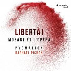 自由! (莫札特及歌劇作曲家們) 拉斐爾·皮雄 指揮 皮馬龍合奏團Raphael Pichon / Libertà! Mozart et L'Opera