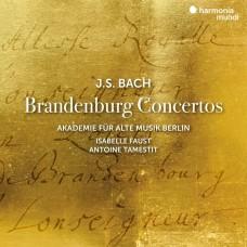 (2CD)巴哈: 布蘭登堡協奏曲 伊莎貝拉.佛斯特 小提琴 塔梅斯提 中提琴 柏林古樂學會樂團Akademie fur Alte Musik Berlin, Faust, Tamestit / Bach: Brandenburg Concertos