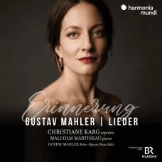 馬勒:(回憶)藝術歌曲集 克莉斯蒂亞娜.卡格 女高音Christiane Karg / Gustav Mahler: Lider 'Erinnerung'