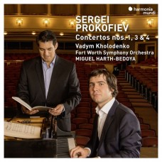"""普羅高菲夫:鋼琴協奏曲,第1.3.4號 瓦丁.柯羅登科 鋼琴 米格爾・哈斯-貝多亞 指揮 沃斯堡交響樂團""""Vadym Kholodenko / Prokofiev: Piano Concertos Nos.1, 3 & 4 """""""