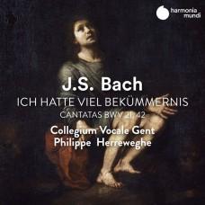 巴哈:(我有許多的煩惱)/(在同一個安息日的晚上)清唱劇 赫瑞維賀 指揮 根特聲樂合唱團Collegium Vocale Gent, Philippe Herreweghe / JS Bach: Ich hatte viel Bekummernis