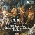 巴哈:世俗清唱劇,BWV21,201,205 雷尼.雅克伯斯 指揮 柏林古樂學會樂團 RIAS室內合唱團Akademie fur Alte Musik Berlin, Rene Jacobs / Bach: Secular Cantatas