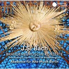 巴哈:布蘭登堡協奏曲  柏林古樂學會樂團Akademie fur Alte Musik Berlin / JS Bach: Brandenburg Concertos