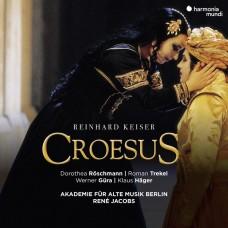 凱薩: 歌劇(克伊蘇斯) 雷尼.雅克伯斯 指揮 柏林古樂學會樂團Rene Jacobs / Reinhard Keiser: Croesus