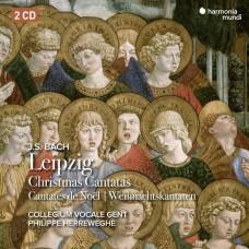 巴哈: 聖誕清唱劇 菲利普.赫瑞維賀 根特聲樂合唱團 (2CD) Philippe Herreweghe / J.S. Bach: Leipzig Christmas Cantata