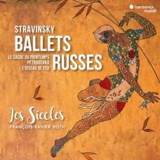 (2CD)史特拉文斯基: 俄羅斯芭蕾舞(火鳥/春之祭/彼得洛希卡) 羅斯 指揮 世紀樂團Francois-Xavier Roth / Stravinsky: Ballets Russes