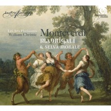 (4CD)蒙台威爾第:牧歌集-繁盛藝術古樂團 / Les Arts Florissants / Monteverdi: Madrigali & Selva morale