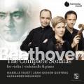 貝多芬: 奏鳴曲全集 奎拉斯/梅尼可夫/佛斯特Faust, Queyras, Melnikov / Beethoven: The Complete Sonatas For Violin, Violoncello & Piano