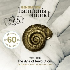60週年紀念精選輯 harmonia mundi世代(一) 1958-1988年 - 巴洛克革命年代 Generation harmonia mundi – I. The Age of Revolutions