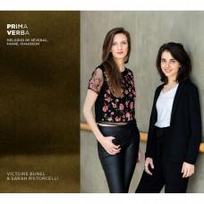 第一句話(法國藝術歌曲) 維多麗·布奈爾 女高音 莎拉·里絲托伽莉 鋼琴Victoire Bunel & Sarah Ristorcelli / Prima Verba