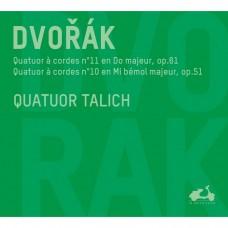 德佛札克:弦樂四重奏第10,11號 塔利許四重奏 / Quatuor Talich / Dvorak; String Quartets Nos. 10 & 11