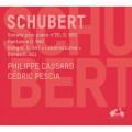 舒伯特:鋼琴奏鳴曲第20號,D959/幻想曲,D940,鋼琴雙重奏 菲利浦・卡薩德 鋼琴 / Philippe Cassard & Cedric Pescia / Schubert - Sonata No. 20, D959 + Piano Duets