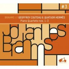布拉姆斯: 第一,二,三號鋼琴四重奏 喬弗洛.庫托 鋼琴 愛瑪仕四重奏Geoffroy Couteau, Quatuor Hermes / Brahms: The 3 Piano Quartets
