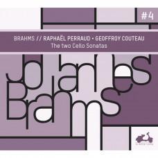 布拉姆斯:  第一,第二號大提琴奏鳴曲 喬弗洛.庫托 鋼琴 拉斐爾·佩荷 大提琴Geoffroy Couteau, Raphael Perraud / Brahms: The Two Cello Sonatas