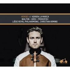 華爾頓:中提琴協奏曲/普羅高菲夫:羅密歐與茱麗葉 亞德利安.拉馬爾卡中提琴Adrien La Marca / Walton, Grisi & Prokofiev: Heroes
