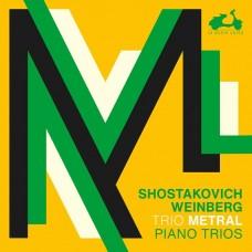 蕭士塔高維契/溫伯格: 鋼琴三重奏 梅特哈爾三重奏Trio Metral / Shostakovich, Weinberg: 3 Piano Trios