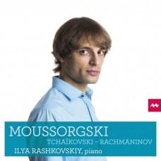 穆索斯基/柴可夫斯基/拉赫曼尼諾夫:鋼琴作品集 拉許科夫斯基 鋼琴Ilya Rashkovskiy / Mussorgsky, Tchaikovsky & Rachmaninov: Piano Works