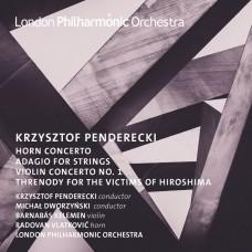 潘德雷茲基:法國號協奏曲/小提琴協奏曲 潘德雷茲基 指揮 倫敦愛樂管弦樂團Michał Dworzynski, LPO / Penderecki: Horn and Violin Concertos