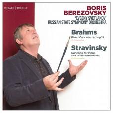 貝瑞佐夫斯基/布拉姆斯&史特拉文斯基: 鋼琴協奏曲 史維特蘭諾夫交響樂團 Berezovsky/Brahms&Stravinsky:Piano Concertos