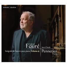 佛瑞: 鋼琴作品第四集 尚-克勞德.龐納提耶 鋼琴 / Jean-Claude Pennetier / Faure: Complete Piano Music, Vol. 4
